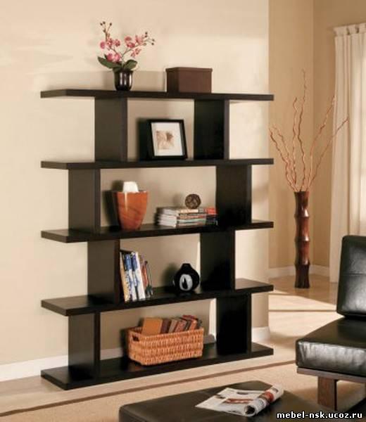 Угловые полки для книг - interior.
